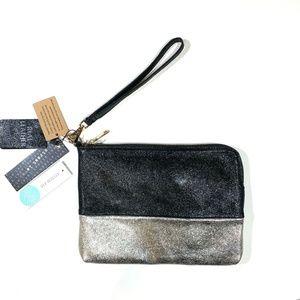 NWT | Street Level | Mirabella Leather Clutch